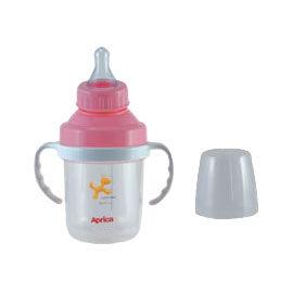 【悅兒樂婦幼用品舘】Aprica 愛普力卡 奶嘴喝水訓練杯