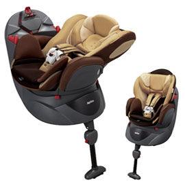 【悅兒樂婦幼用品舘】Aprica 愛普力卡 Fladea DX 729 平躺型嬰幼兒汽車安全臥床椅-棕欖米