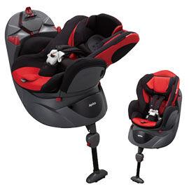 【悅兒樂婦幼用品舘】Aprica 愛普力卡 Fladea STD 699 平躺型嬰幼兒汽車安全臥床椅-聖誕紅