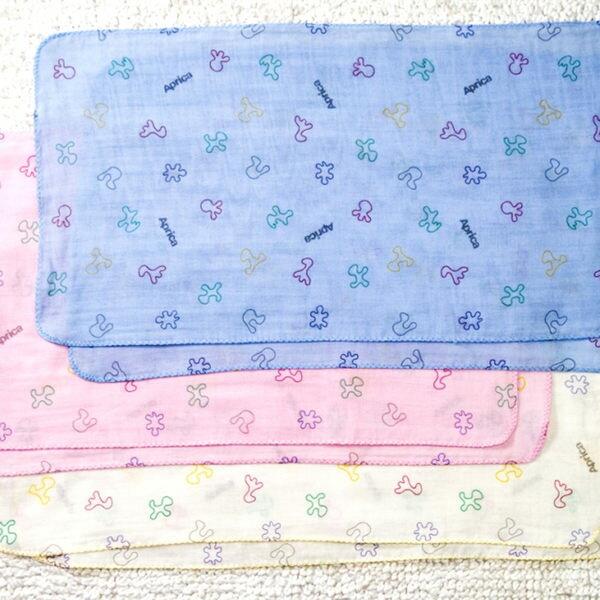 【悅兒樂婦幼用品?】Aprica 愛普力卡 幸福印花紗布澡巾(二入裝)