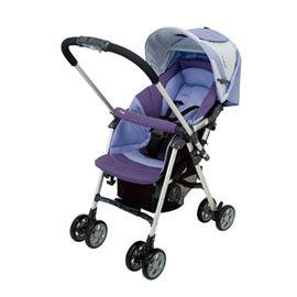 【悅兒樂婦幼用品?】Combi 康貝 Spazio SZ-300Z雙向嬰兒手推車-紫羅蘭