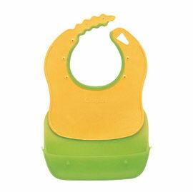 Combi 康貝 優質攜帶式圍兜-綠【悅兒園婦幼生活館】
