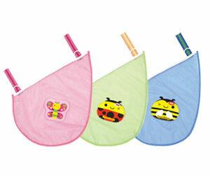 【悅兒樂婦幼用品?】naforye 拉孚兒 【袋著走】側邊收納袋-蝴蝶/瓢蟲/蜜蜂