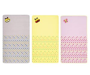 【悅兒樂婦幼用品?】naforye 拉孚兒 【會呼吸】嬰兒床通用透氣墊-蜜蜂/瓢蟲/蝴蝶