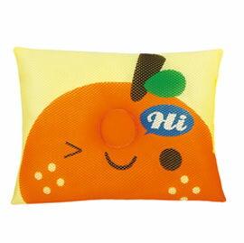 【悅兒樂婦幼用品舘】naforye 拉孚兒 會呼吸的透氣枕頭-橘子