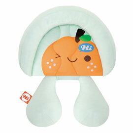 【悅兒樂婦幼用品?】naforye 拉孚兒【頸頸相依】護頭頸枕-橘子