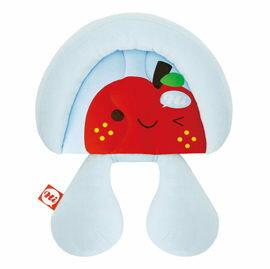 【悅兒樂婦幼用品?】naforye 拉孚兒【頸頸相依】護頭頸枕-蘋果