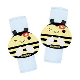 【悅兒樂婦幼用品舘】naforye 拉孚兒 造型安全帶護套-蜜蜂 - 限時優惠好康折扣