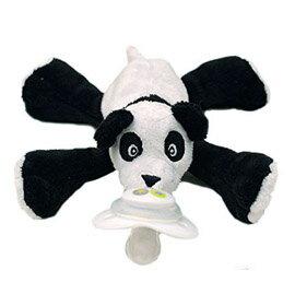 【悅兒園婦幼生活館】美國nookums 安撫奶嘴玩偶-熊貓