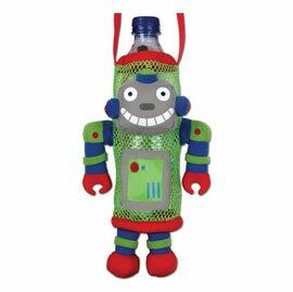 【悅兒園婦幼生活館】美國 Stephen Joseph 兒童造型水壺袋-機器人