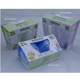 BeBeLock 母乳、副食品保鮮盒 180ml (4入) - 圓型【悅兒園婦幼生活館】