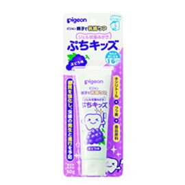 【悅兒樂婦幼用品舘】PIGEON 貝親 嬰兒防蛀牙膏(葡萄口味) - 限時優惠好康折扣