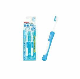 PIGEON 貝親 第四階段訓練牙刷-2入 (藍)【悅兒園婦幼生活館】 - 限時優惠好康折扣