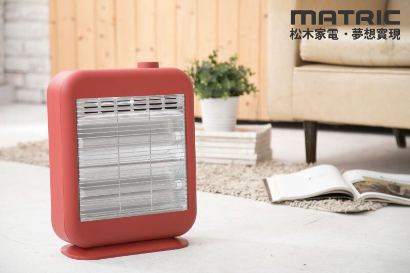 淘禮網   MG-CH0803Q【日本松木MATRIC】 暖芯紅外線電暖器
