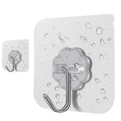6x6 無痕掛勾 強力免鑽孔掛勾 掛架 壁掛 懸掛 活動式 掛勾 可重複使用 浴室 廚房 收納【SV6638】BO雜貨