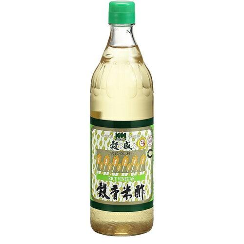 穀盛穀香米醋600ml【愛買】