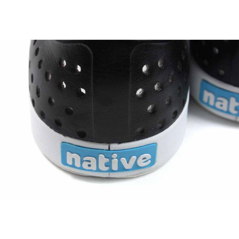native JEFFERSON OMBRE 懶人鞋 洞洞鞋 白 / 灰 漸層 男女鞋 11100147-1958 no978 2