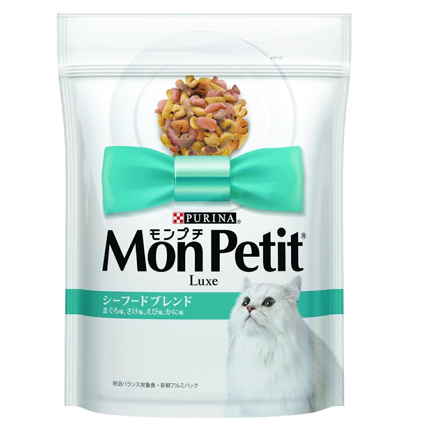 貓倍麗 MonPetit 成貓乾糧 -[海鮮拼盤配方] 1.36kg
