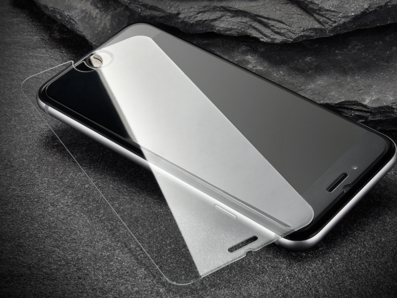 iPhone 6 6s (Plus)/iPhone 7 (Plus) 2.5D弧邊 非滿版 耐磨防刮 鋼化玻璃貼 保護貼