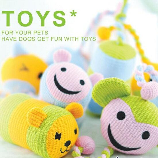 超可愛編織玩偶 可愛動物 長尾巴編織玩具~小樂寵