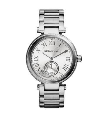 美國Outlet正品代購 MichaelKors MK 復古羅馬數字水鑽  陶瓷  三環 手錶 腕錶 MK5866 2
