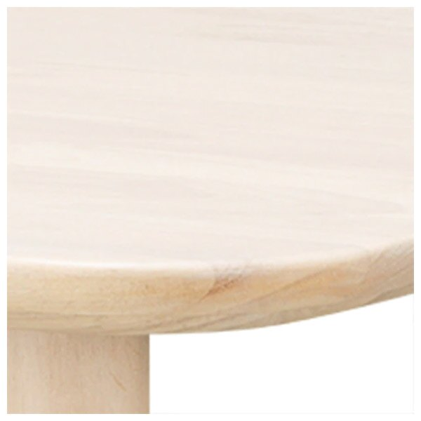 ◎(OUTLET)橡膠木餐桌 NUTS TW 150 WW 福利品 NITORI宜得利家居 2
