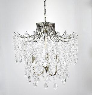 古銅透明水晶珠吊燈-BNL00031