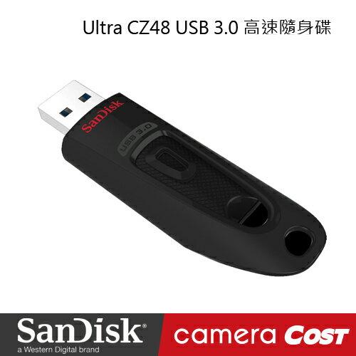 ★現貨免等★SanDisk CZ48 Ultra 128G USB 3.0 高速 隨身碟 黑 公司貨