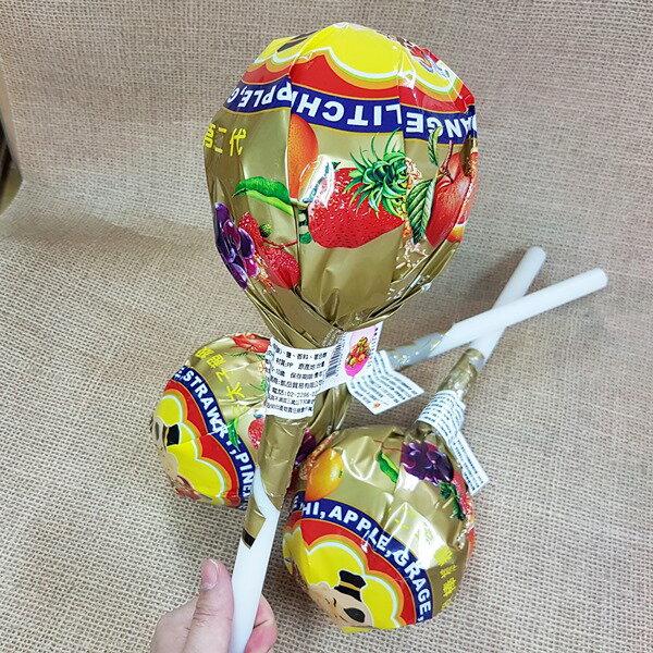 三太子 超級棒棒糖 水果棒棒糖  1支150公克 109元 ~4713909140
