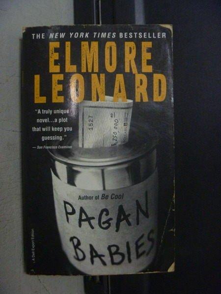 【書寶二手書T9/原文小說_OGY】Elmore Leonard