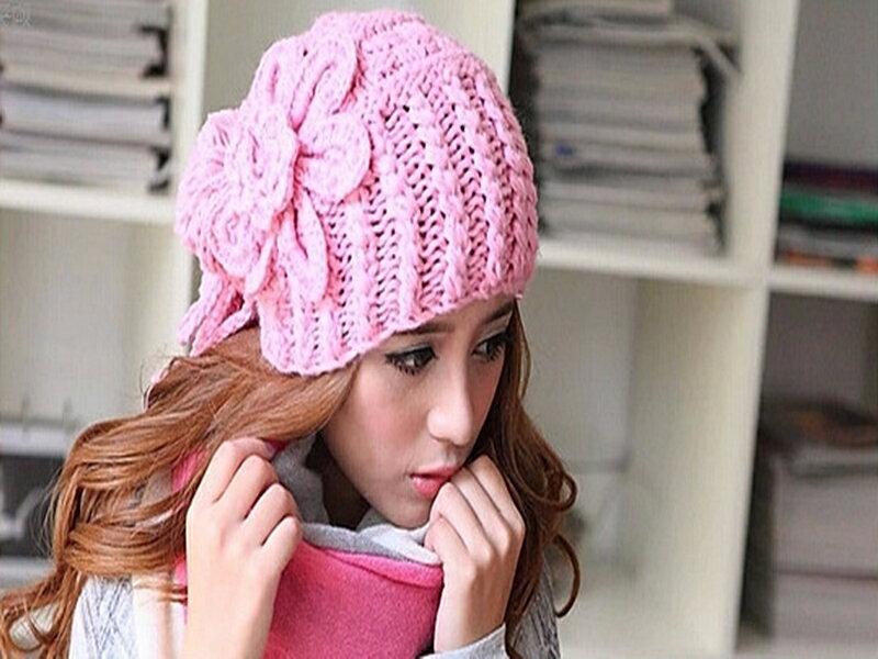 《316小舖》【YB02】(秋冬新款時尚毛線保暖帽子-單件價 /球球帽子/男士帽子/女士帽子/球帽子/過節禮物)