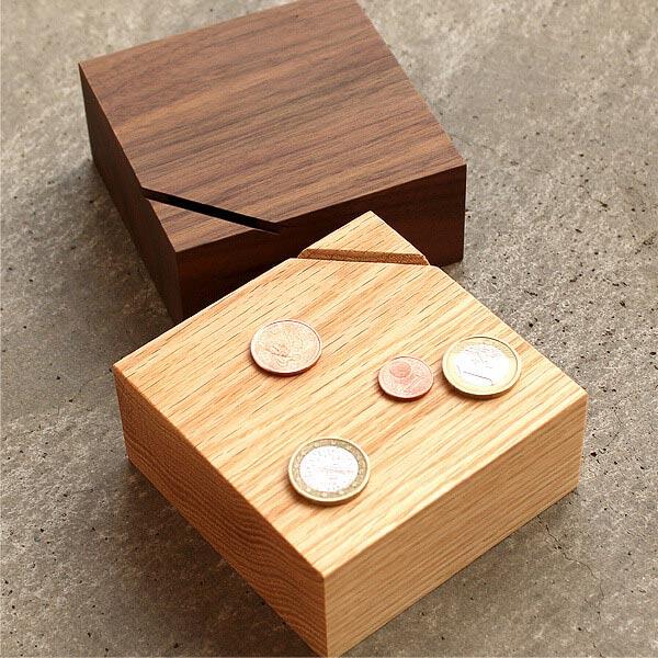 《 Hacoa 限量 》實木存錢筒