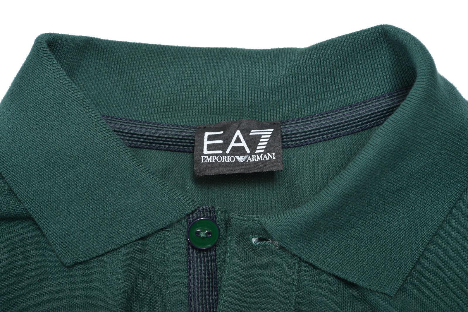 Armani Ea7 Long Sleeve Polo