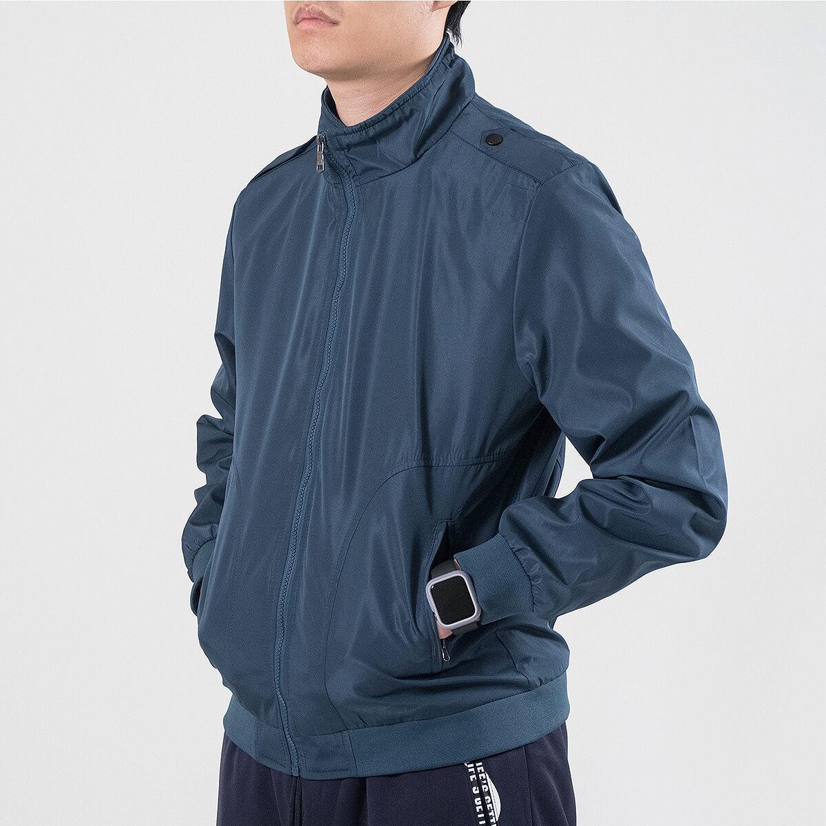 軍裝外套 修身夾克外套 立領素面外套 鈕扣肩章外套 格紋內裡薄外套 防風外套 潮流時尚休閒外套 風衣外套 黑色外套 Military Jacket Men's Jackets Windproof Jackets Button-up Epaulets (321-8025-01)咖啡色、(321-8025-02)藍綠色(321-8025-04)黑色  L XL 2L 3L 4L (胸圍109~124公分  43~49英吋) 男 [實體店面保障] sun-e 6