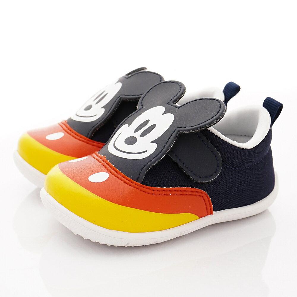 迪士尼Disney童鞋-夏日新品米奇學步鞋-118159藍(寶寶段)