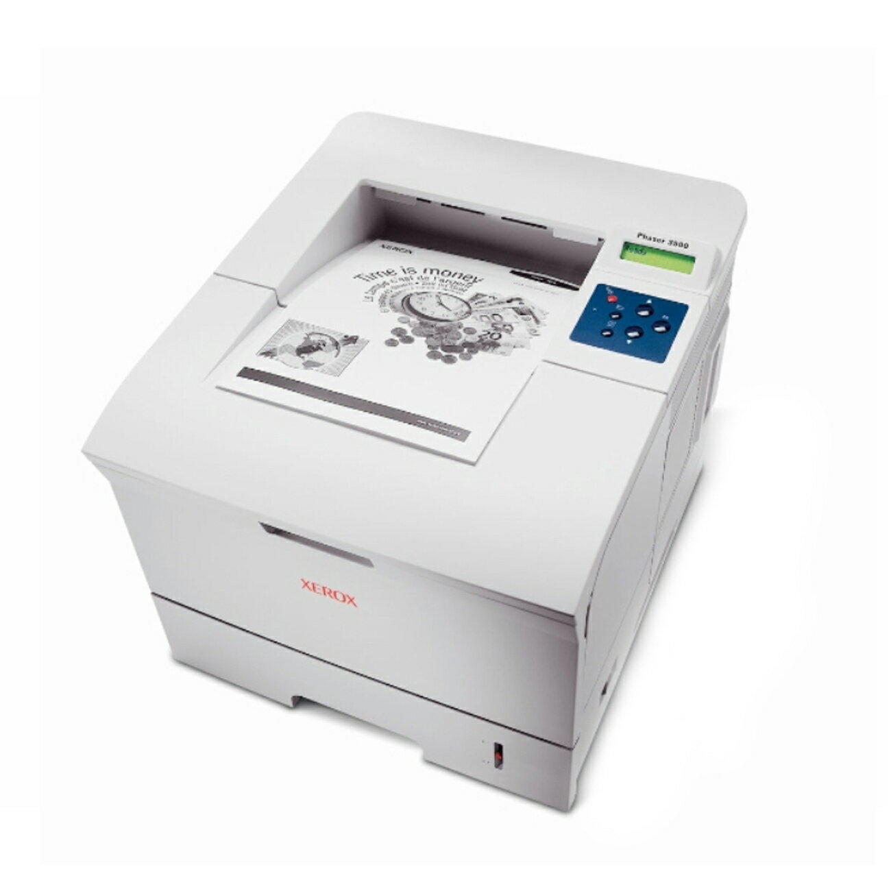 Xerox Phaser 3500N Laser Printer - Monochrome - 35 ppm Mono - Parallel, USB - Fast Ethernet - PC, Mac 0