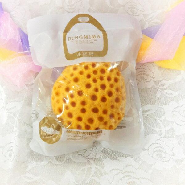 meko美妝生活百貨:【Bingmima冰密碼】柑橘清爽沐浴棉(1入)