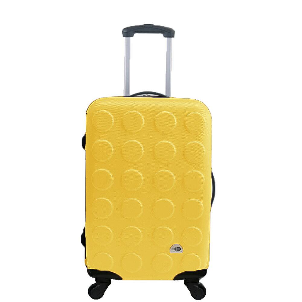 MJBOX超值輕硬殼ABS霧面24吋行李箱 旅行箱 10款任選限時5折 2