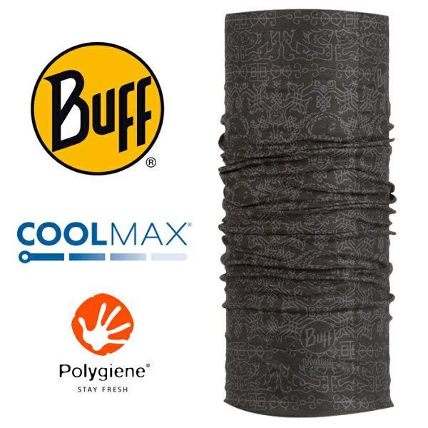 【Buff西班牙】魔術頭巾系列COOLMAX抗UV頭巾-太古圖騰/BF100144