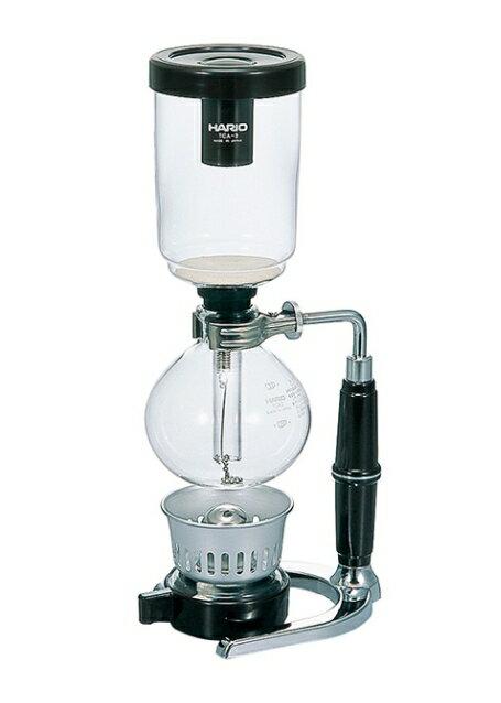 金時代書香咖啡 HARIO 經典虹吸式咖啡壺 1-3杯 360ml TCA-3