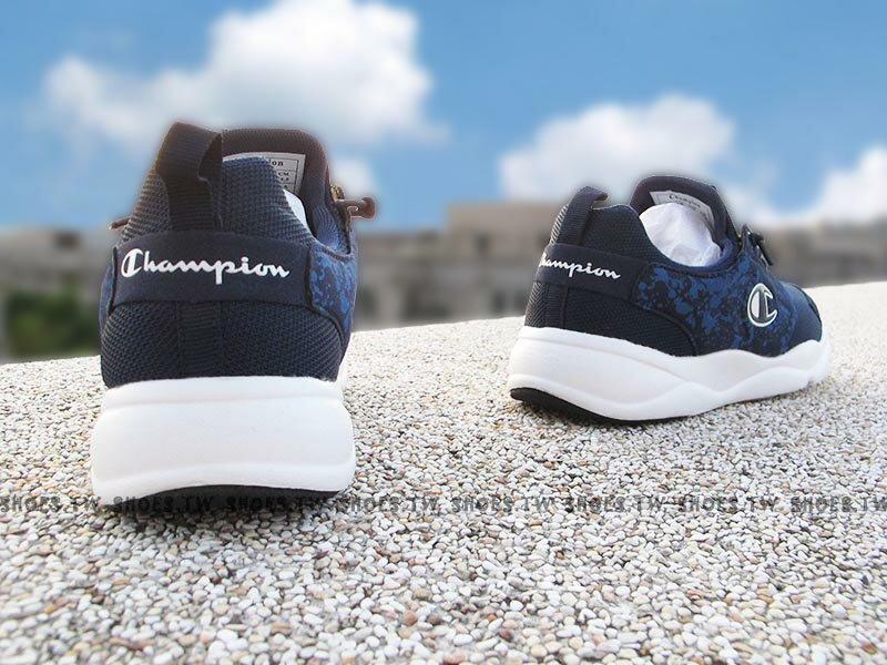 《限時特價799元》Shoestw【731210193】Champion C Ninja 忍者鞋 休閒鞋 襪套 免綁帶 深藍 男款 2