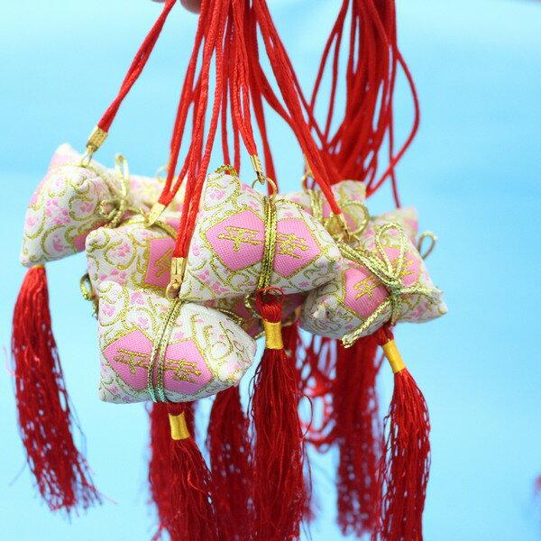 平安香包 粽子香包 項鍊式手工(成品) / 一包10個入 { 促80 }  端午節香包~4762 7