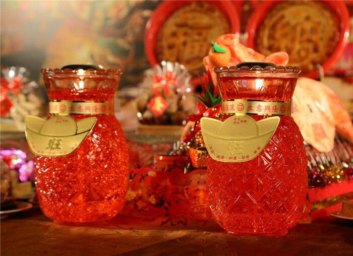 鳳梨旺來果凍蠟燭(1箱)