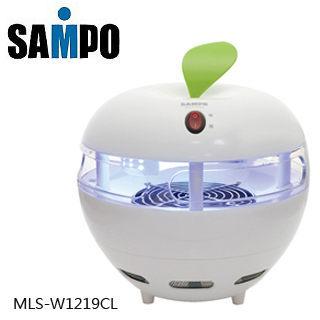 【威利家電】SAMPO 聲寶 9瓦光觸媒吸入式捕蚊燈 MLS-W1219CL