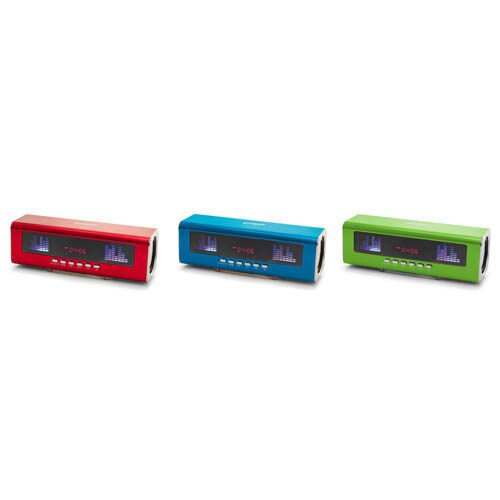 【威利家電】旺德WONDERUSB/FM MP3隨身音響WD-9209U(紅.藍.綠)