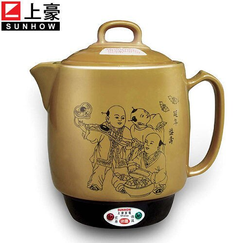 【威利家電】上豪 陶瓷中藥壺 CP-1010
