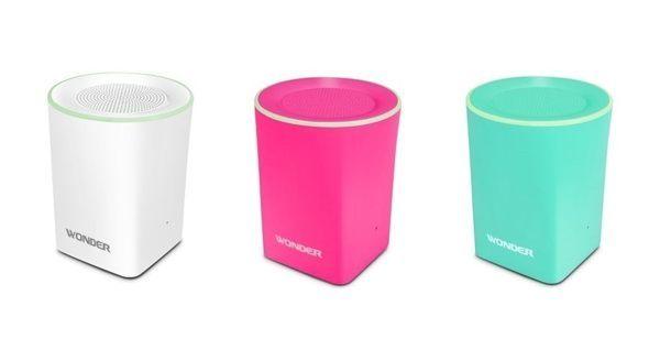 【威利家電】 【分期0利率+免運】WONDER旺德 藍牙隨身音響 (粉色、粉綠、白色)WS-T017U