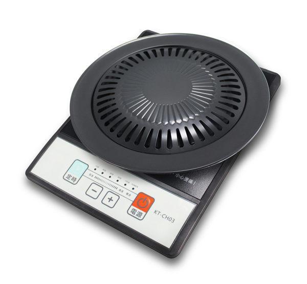 【威利家電】 【分期0利率+免運】Ambi不挑鍋電陶爐KT-CH03(附燒烤盤)