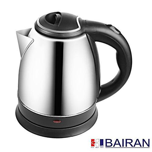 【威利家電】【刷卡分期0利率+免運】白朗BAIRAN1.5L304不鏽鋼電茶壺快煮壺FBET-D01FBETD01