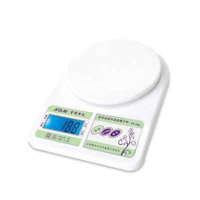 【威利家電】【刷卡分期零利率+免運費】有現貨 免等 聖岡科技 多用途家用液晶電子秤-PT-3kg